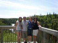 Excursion avec la famille